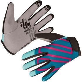 Endura Hummvee Handschoenen Kinderen, aquamarin